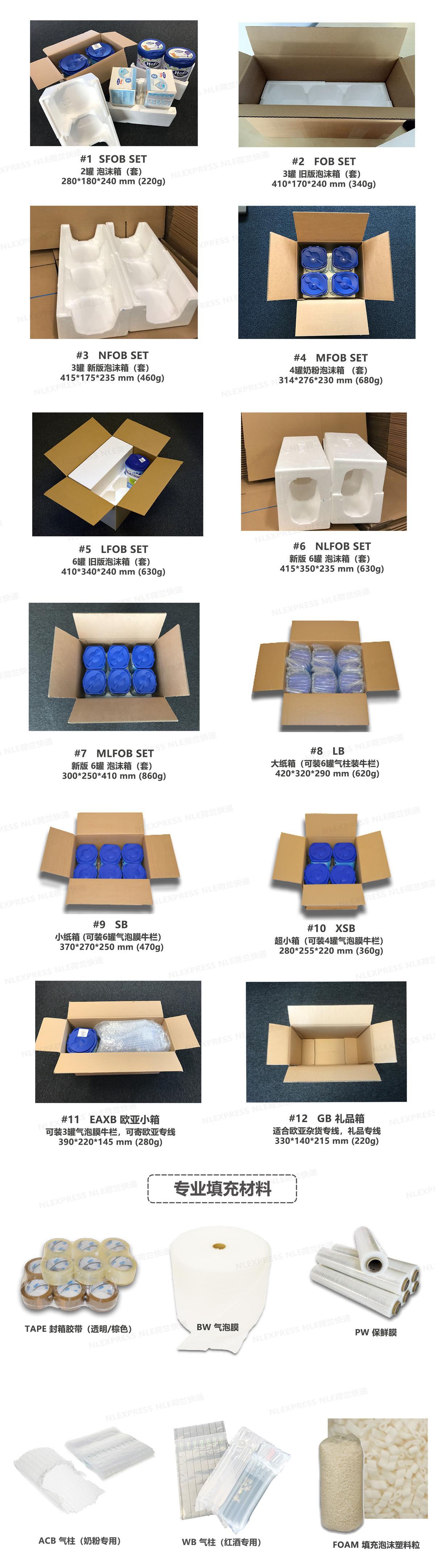 包装材料汇总照片2019-05
